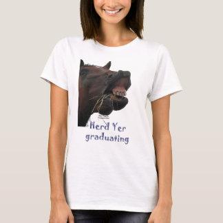 Herd Yer Graduating Funny Horse T-Shirt