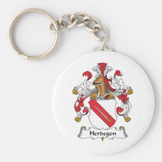 Herdegen Family Crest Keychain