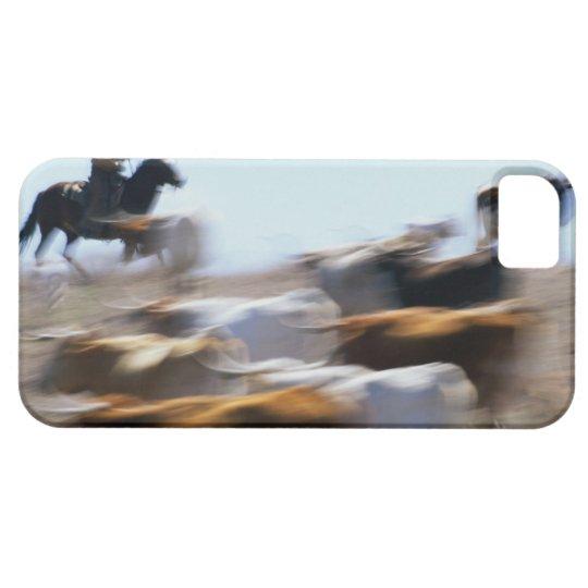 Herding Cattle iPhone SE/5/5s Case