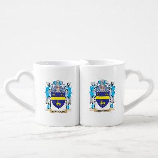 Herdsman Coat of Arms - Family Crest Couples' Coffee Mug Set