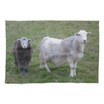 Herdwick Ewe and Lamb Tea Towel