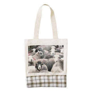 Herdwicks At Buttermere Zazzle HEART Tote Bag