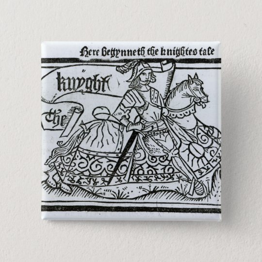 'Here Begynneth the Knightes Tale' Button
