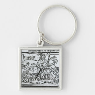 'Here Begynneth the Knightes Tale' Keychain