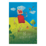 Here Birdy Bot? Poster
