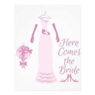 Here Come The Bride Letterhead