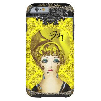 Here Comes Blondie Monogram Tough iPhone 6 Case