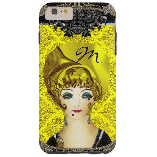 Here Comes Blondie Monogram Tough iPhone 6 Plus Case