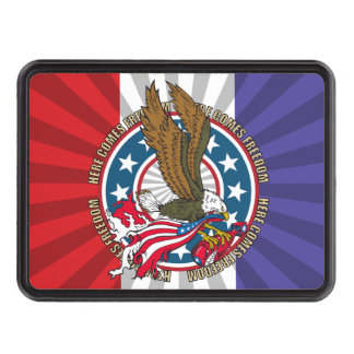 Here Comes Freedom American Bald Eagle Hitch Covers