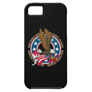 Here Comes Freedom American Bald Eagle iPhone SE/5/5s Case