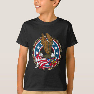 Here Comes Freedom American Bald Eagle T-Shirt