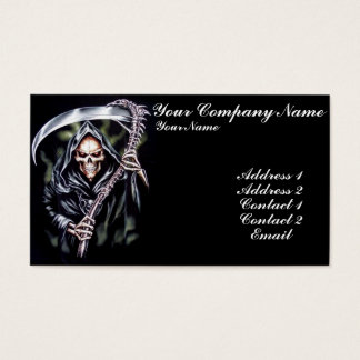 Here Comes Grim Business Card