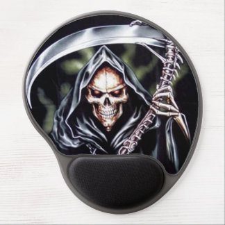 Here Comes Grim Gel Mouse Pad