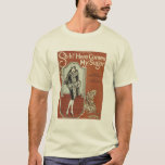 Here Come's My Sugar Vintage Songbook Cover T-Shirt