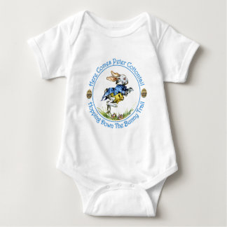 Here Comes Peter Cottontail Baby Bodysuit