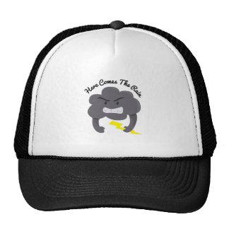 Here Comes Rain Trucker Hat