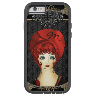 Here Comes Red Monogram Tough Xtreme iPhone 6 Case