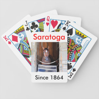 Here Comes Rosie in her Stall Bicycle Playing Cards