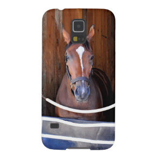 Here Comes Rosie in her Stall Galaxy S5 Covers