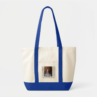 Here Comes Rosie in her Stall Tote Bag
