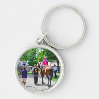Here Comes Rosie to the Post Keychain