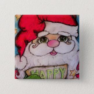 Here Comes Santa Claus Button
