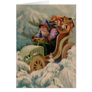 Here Comes Santa Claus! Note Card
