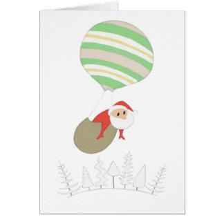 Here Comes Santa Claus Notecard