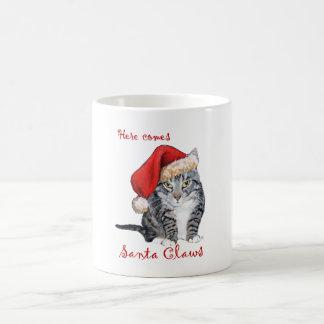 Here Comes Santa Claws! Coffee Mug