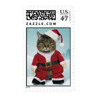 Here Comes Santa Claws Postage
