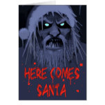 HERE COMES SANTA GREETING CARDS