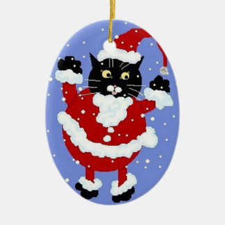 Here Comes Santy Claws Ornament