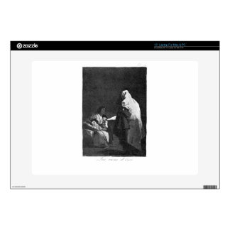 """Here comes the bogey-man by Francisco Goya Decal For 15"""" Laptop"""