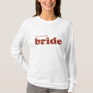 here comes the bride berry clusters t shirt
