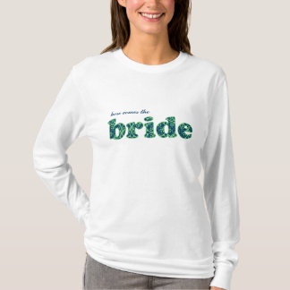"""""""Here comes the Bride"""" Blue Berry Clusters T-Shirt"""