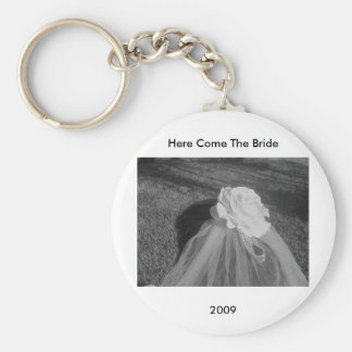 Here Comes The Bride - Keychain CUSTOMIZE IT