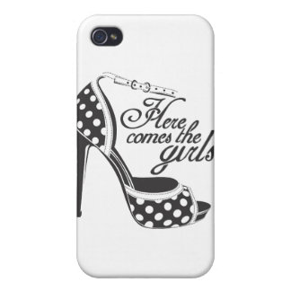 Here Comes the girls_SHOE.ai Cover For iPhone 4