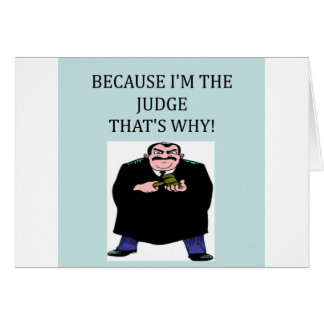 here comes the judge card