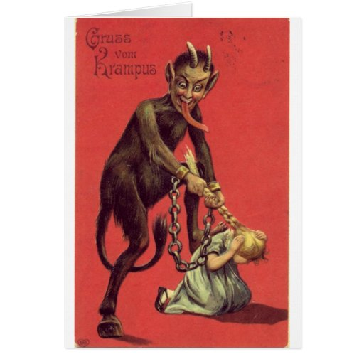 Here Comes The Krampus! 2 Greeting Card