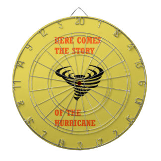 Here comes the story of the hurricane dartboard with darts