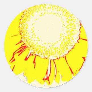 Here Comes The Sun! Classic Round Sticker