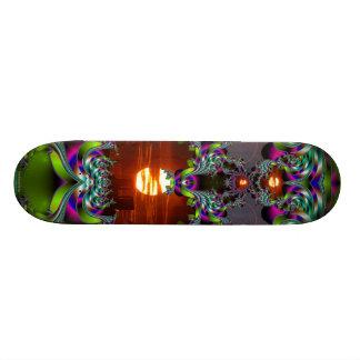 Here Comes the Sun Custom Skate Board
