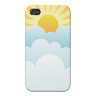 Here comes the Sun iPhone 4 Cover