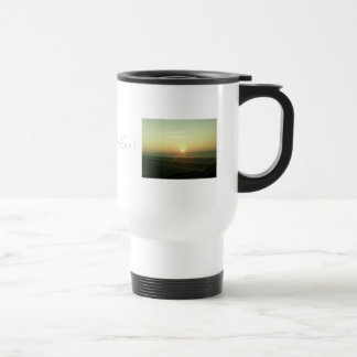 Here Comes the Sun ! 15 Oz Stainless Steel Travel Mug