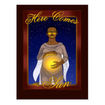 Here Comes the Sun Postcard