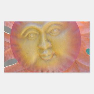 Here Comes the Sun Rectangular Sticker