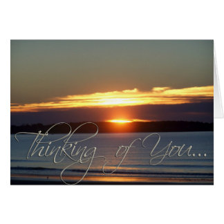 Here Comes the Sun - Thinking of You Greeting Card