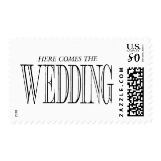 Here Comes the Wedding Postage