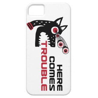 Here Comes Trouble 5 iPhone 5 iPhone 5 Covers