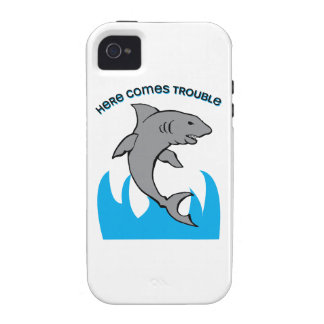 Here Comes Trouble iPhone 4 Case
